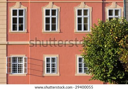 Chateau Dobris detail- Czech Republic - stock photo