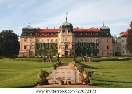 "Chateau ""Lany"" - stock photo"