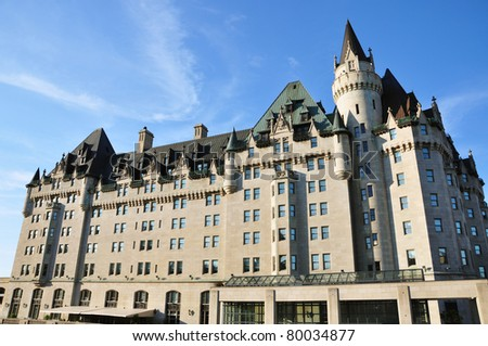 Chateau Laurier in Ottawa, Ontario, Canada
