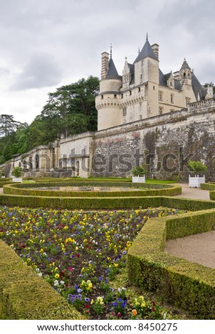 Chateau Usse�, Loire Valley, France.