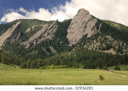 Chautauqua Park in Boulder Colorado