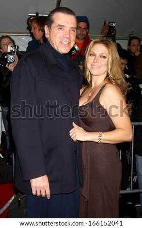 Chazz Palminteri, Gianna Palminteri at Premiere of THE GOOD SHEPHERD, Ziegfeld Theatre, New York, NY, December 11, 2006