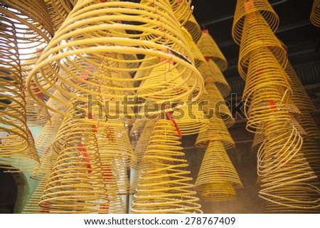 Che Kung Temple ,Hong Kong. - stock photo