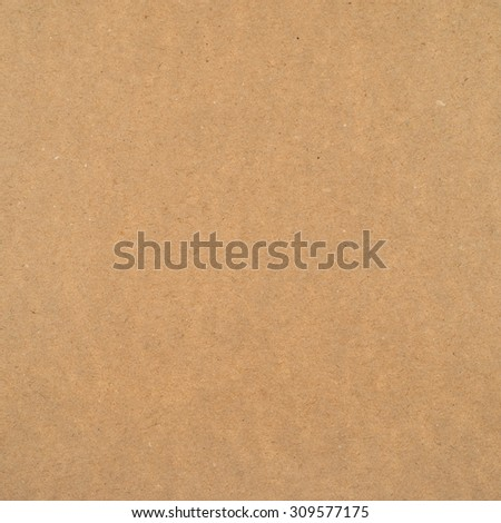 Cheap brown packaging paper texture background - stock photo