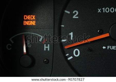 Check Engine Light Stock Images RoyaltyFree Images Vectors - Car image sign of dashboarddashboard warning lights stock images royaltyfree images