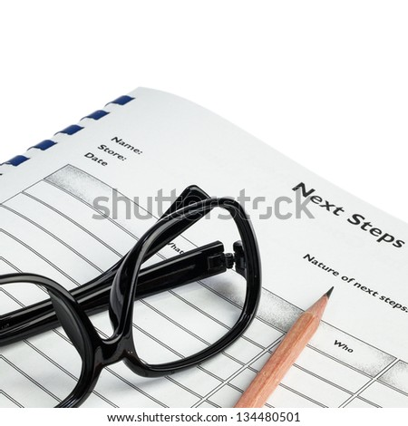 Check list document for working activities