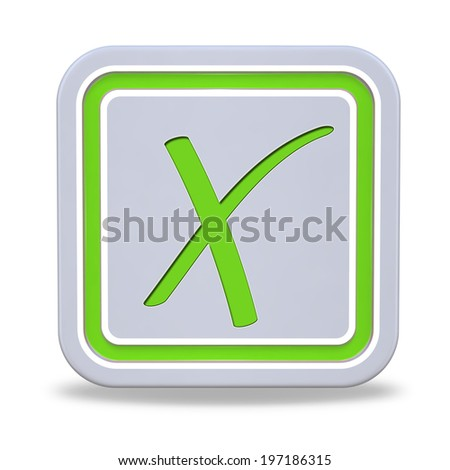 check square icon on white background