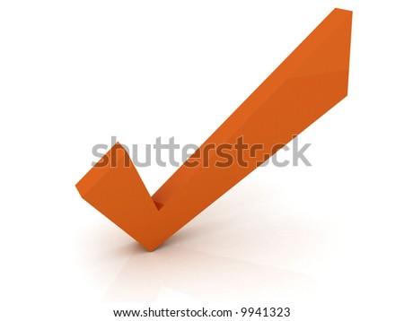 check symbol - stock photo