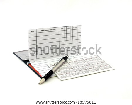 Checkbook - stock photo