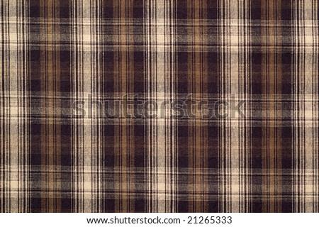 Checkered fabric - stock photo