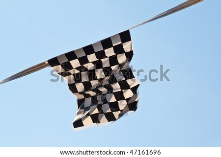Checkered Flag Finish Line