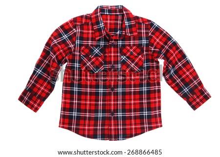 Mens Black And White Checkered Shirt