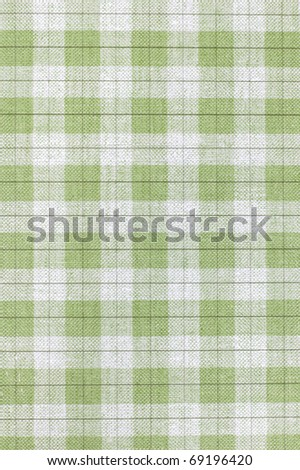 Checkered paper closeup