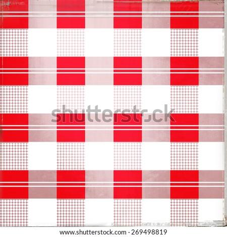 checkered pattern - stock photo