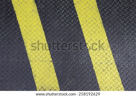 Checkered Plate for Background - stock photo