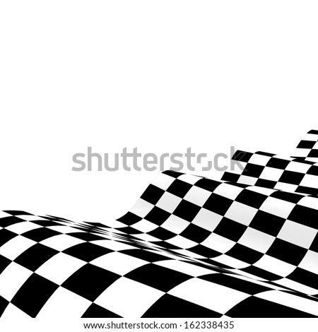 checkered race flag. Racing flags. Background checkered flag Formula one with space for your text