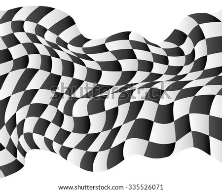 checkered race flag waveing vector background layout design jpeg version
