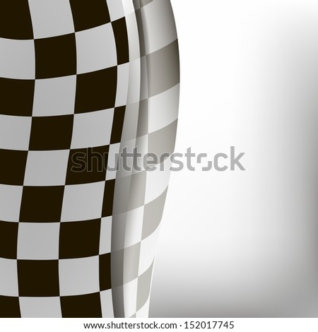 checkered sport racing flag background. bitmap