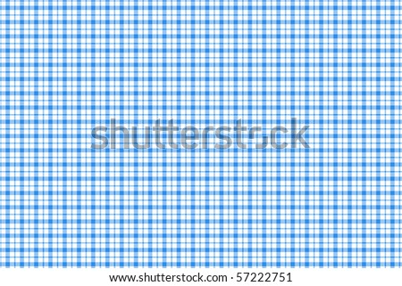 Checkered tablecloth ? blue and white squared pattern background - stock photo