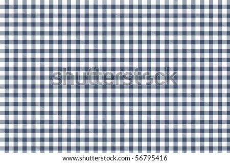 Checkered tablecloth - surface texture for background - stock photo