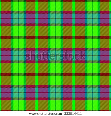 Checkered vibrant psychedelic pattern like a textile - digitally rendered graphic - usable for web design  - stock photo