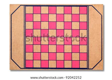 Checkers board - stock photo