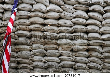 Checkpoint Charlie - stock photo