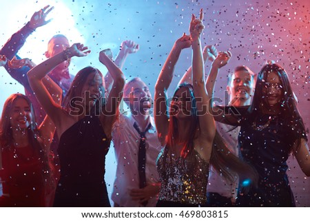 Cheerful party