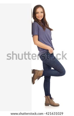 Cheerful young girl - stock photo