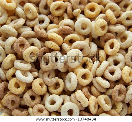 cheerios - stock photo