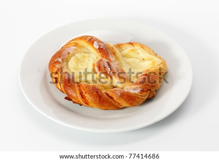 Cheese Danish - stock photo