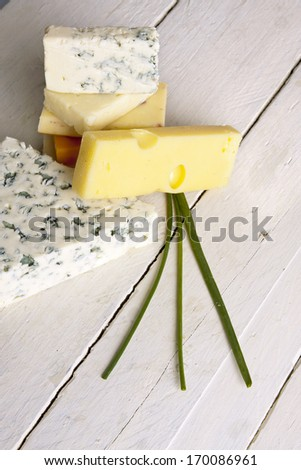 cheese isolated on white background, healthy food