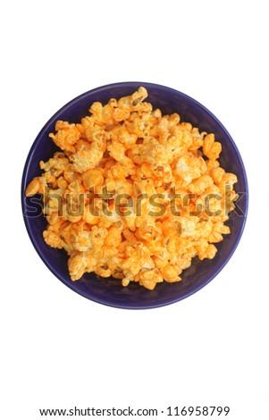 cheese popcorn - stock photo