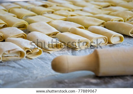 Cheese puffs - stock photo