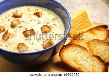 Cream soup Stock Photos, Illustrations, and Vector Art
