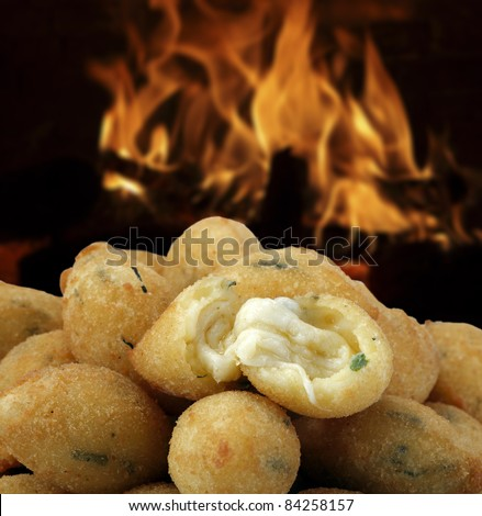 cheese straws - stock photo