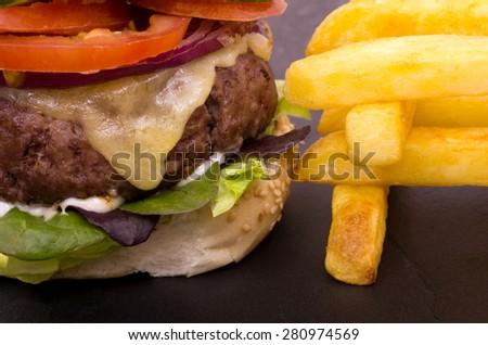 Quarter Pounder And Fries Quarter Pounder Stock ...