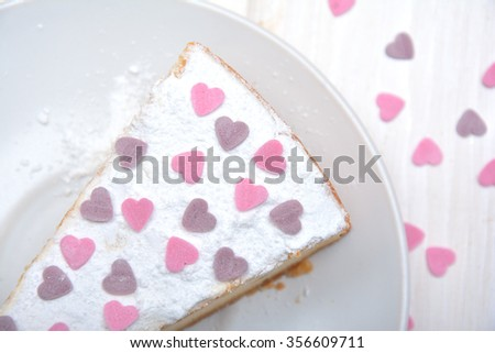 Cheesecake for Valentine's day