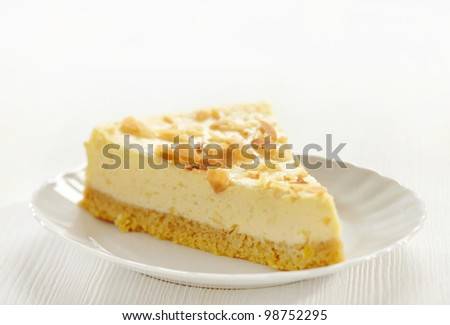 cheesecake slice