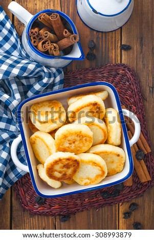 cheesecakes - stock photo