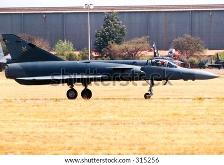 Cheetah Fighter Aircraft - stock photo