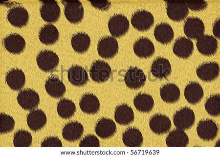 Cheetah Skin Texture Cheetah Spots Texture
