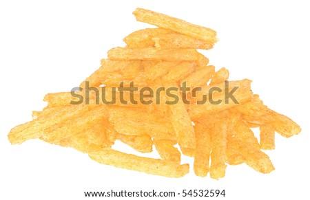 Cheetos on a white background. - stock photo