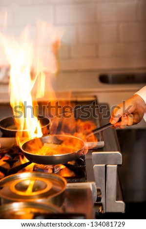 Kitchen Fire Stock Images Royalty Free Images Amp Vectors
