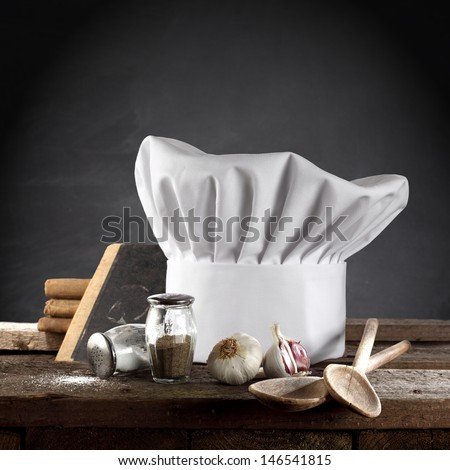 chef photo in kitchen