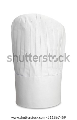 Chef's Hat Isolated with clipping Path - stock photo