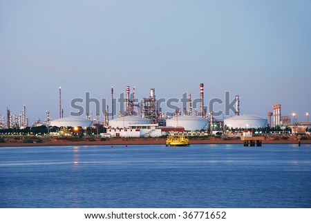 Chemical and petrochemical industry in port Spain