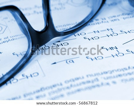 Chemical equipment close-up - stock photo