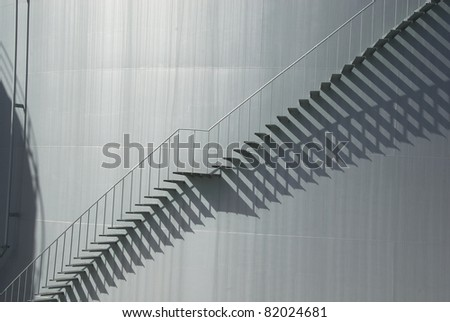 Chemical Industry, Storage Tank - stock photo