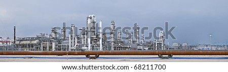Chemical Installation - stock photo